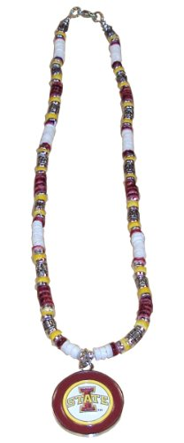 NCAA Iowa State Cyclones Shell Necklace, 18-Inch, White