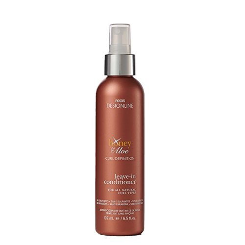 Honey & Aloe Leave-In Conditioner, 6.5 oz - Regis DESIGNLINE - Lightweight Curl-Definition No Rinse Conditioner, Helps Tone Down Frizz and Unruly Curls (6.5 oz) (Regis Designline Ultimate Radiance Leave In Conditioning Styler)