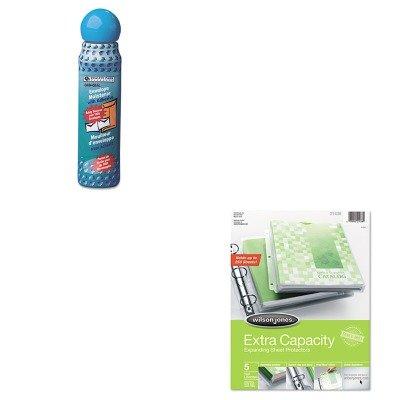 KITQUA46065WLJ21438 - Value Kit - Wilson Jones Extra Capacity Sheet Protector (WLJ21438) and Quality Park Envelope Moistener w/Adhesive (QUA46065) ()