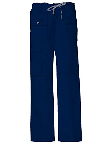 - Dickies Women's Low Rise Drawstring Cargo Pant, D-Navy, XX-Small