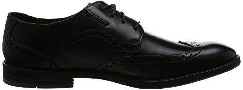 Clarks Mens Prangley Limit Formal Lace Up Shoes Black 4QZSQtG