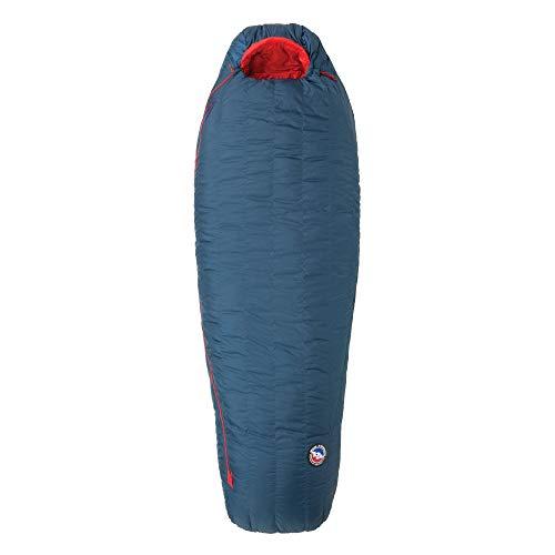 Weatherproof Adult Zip Sleeve - Big Agnes Anvil Horn 0 (650 DownTek) Sleeping Bag, Regular, Left Zip, Blue/Red