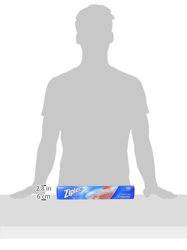 ziploc freezer bags 2 gallon - 1