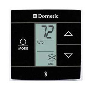 DOMETIC 3316255011 Black Single Zone Heat//Cool Bluetooth Thermostat