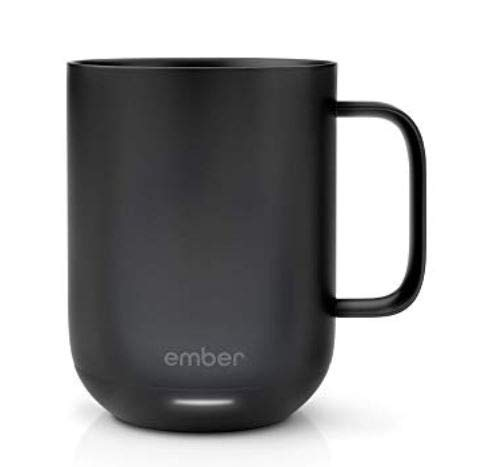 Ember CM171000US Temperature Control Ceramic Mug, One Size, Black