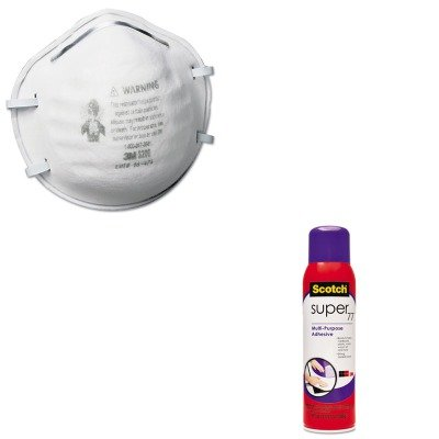 KITMMM77MMM8200 - Value Kit - Scotch Super 77 Multipurpose Spray Adhesive (MMM77) and 3m N95 Particle Respirator 8200 Mask (MMM8200)