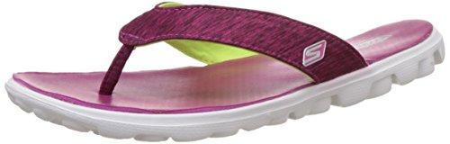 Skechers WoMen on The Go Flow Heels Sandals Pink (Pnk)