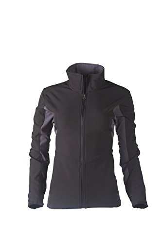 Drift Tech Outdoors Women's Strombloc Togiak Softshell Jacket, Black, 3X-Large by Drift Tech Outdoors