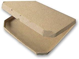 Ondulado Plain Kraft Caja de pizza, calibre 14