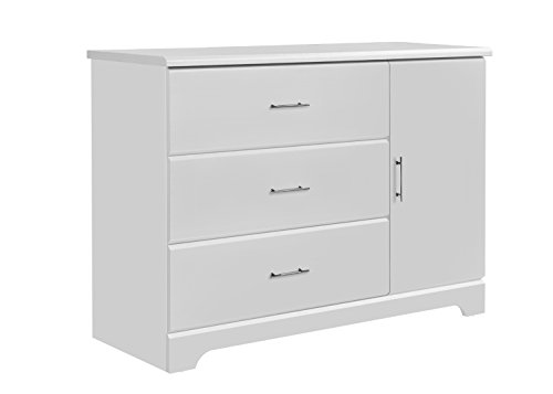 Buy Storkcraft Brookside 3 Drawer Combo Dresser, White