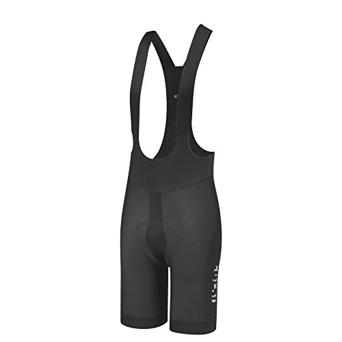 "Fizik Link R3 Chameleon Height (6'0""6'3"") Waist (34""36.5"") Bib Shorts, Black, Large"