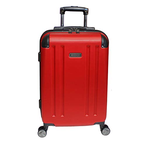 Kenneth Cole Reaction Hardside 20-inch Expandable Spinner Luggage – Red
