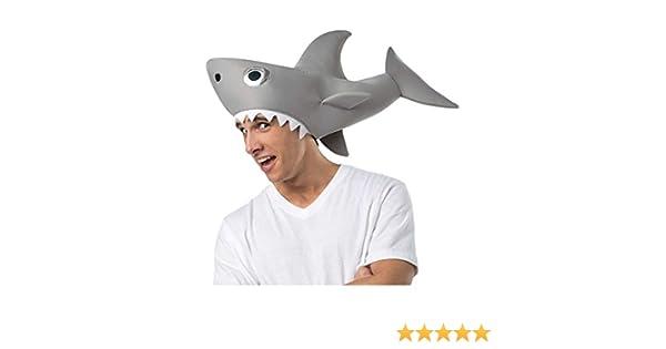 Horror-Shop Sharknado tiburón Sombrero: Amazon.es: Juguetes y juegos