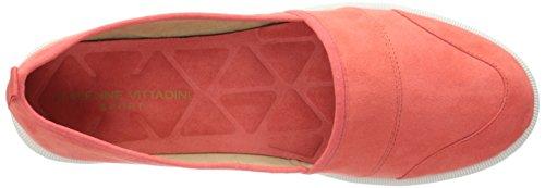 Adrienne Vittadini Footwear Women's Essie Fashion Sneaker Coral 2bWI3gz1M