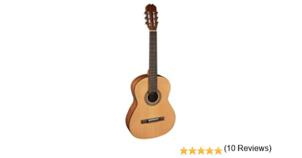 Admira (Alba) Iniciación 4/4 guitarra clásica española: Amazon.es ...