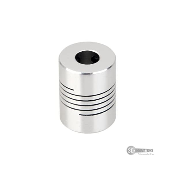 3D Innovations Flexible Coupling Shaft Coupler 5mm To 8mm For 3D Printer And Cnc (Quantity: 1 Pc)