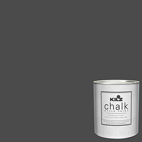 KILZ 00004304 Interior Chalk Style Ultra Flat Decorative Paint, 1 Quart, Toasted Poppyseed