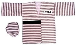 Costumes Bag Prisoner (Morris Custumes Costume Bag (Prisoner) One Size Multiple Colors)