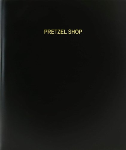 BookFactory® Pretzel Shop Log Book / Journal / Logbook - 120 Page, 8.5