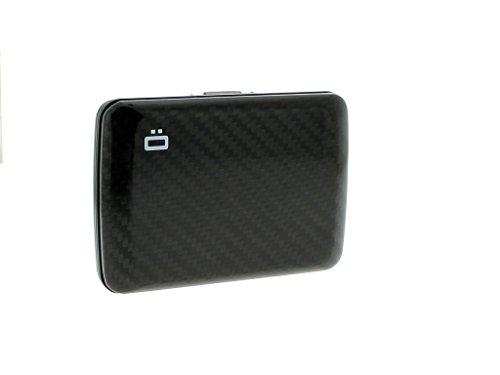 Ogon Wallet Card Case Stockholm V2 Aluminium Portemonnaie Kredit Karten Etui - All Colors (Carbon) ()