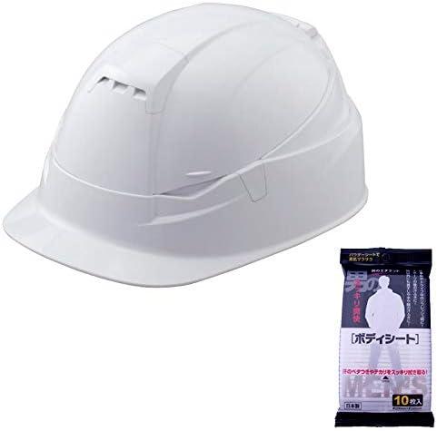 TOYO 折りたたみヘルメット BLOOM3 MOVO 白 男のボディシート 10枚付き 105