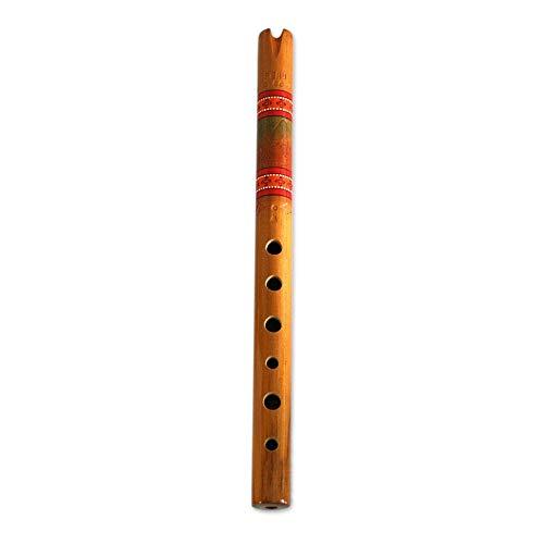 """NOVICA 146830"""" Peace Wood Quena Flute"""