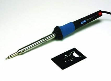ECG J-040 eléctrico soldador con punta de la aguja cónica con cable, 400