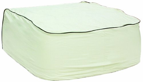 Camco 45398 Vinyl Air Conditioner Cover Fits Dometic and Brisk Air Models (Off White)
