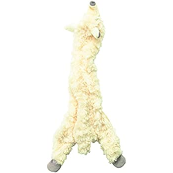Ethical 5716 Skinneeez Wooly Sheep Stuffing-Less Dog Toy, 23-Inch