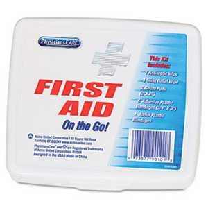 KIT,FIRST AID,MINI,WHT