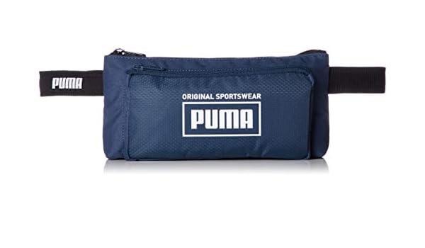 PUMA Bolsa Unisex para Cinturón - Sole Waistbag, Logo, ca. 13x26x4cm (AlxAnxPr) (Azul): Amazon.es: Deportes y aire libre