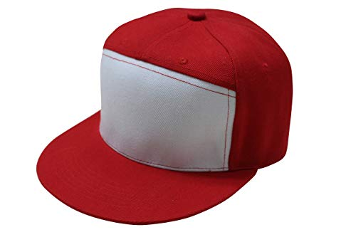 Trend Basics Embroidered Trainer Red Hat. -