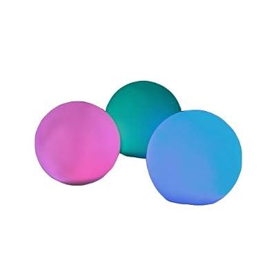 "Fortune ProductsR-ORB Rainbow Orb LED Light, 3 1/4"" Diameter: Outdoor Figurine Lights: Industrial & Scientific"