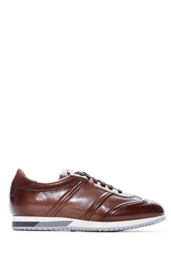 SANTONI Scarpe Sneaker Uomo Marrone Primavera Estate Art 20780BAGMGOO L-S50 P18