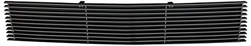 T-rex Vertical Upper Billet Grille - T-Rex Grilles 25546B Horizontal Aluminum Black Finish Billet Bumper Grille Bolt-on for Ford Super Duty