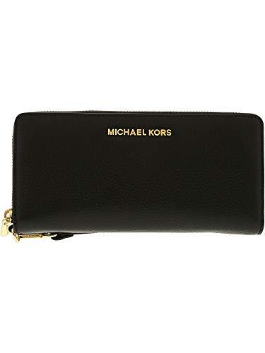 644da3801aae Michael Kors Jet Set Travel Continental Zip Around Leather Wallet ...