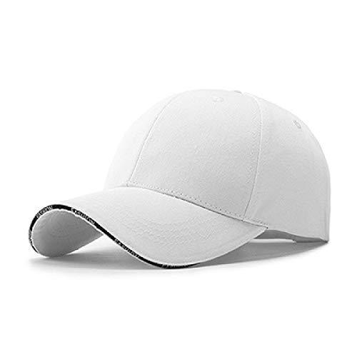 - WEEKEND SHOP Adult Unisex Casual Solid Adjustable Baseball Caps Snapback Hats for Men Baseball Cap Women Men White Baseball Cap hat Cap undefined