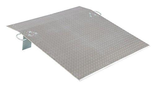 Vestil Economizer Dockplate - Aluminum, 1,900-lb. Capacity, 48in.L x 36in.W, Model# E-3648