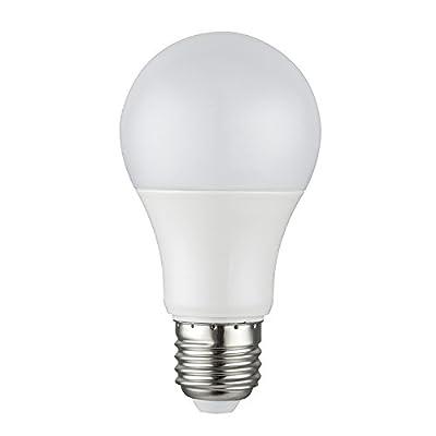 Nada, A19 E26 LED Bulbs, Globe, AC DC 12V 24V, 7W, Solar Powered Lamp, 80W Traditional Light Equivalent, 700Lumen, Warm White, Soft White, 3000K, 1 Pack