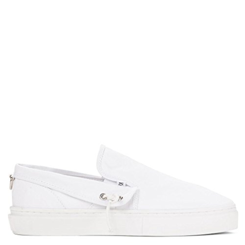 Clear Weather Lakota Slip On Shoes - White Canvas - 9 Men's / 10.5 Women's
