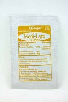 Medique Medi-Lyte Electrolyte Heat Relief Tablets (Box of 250)