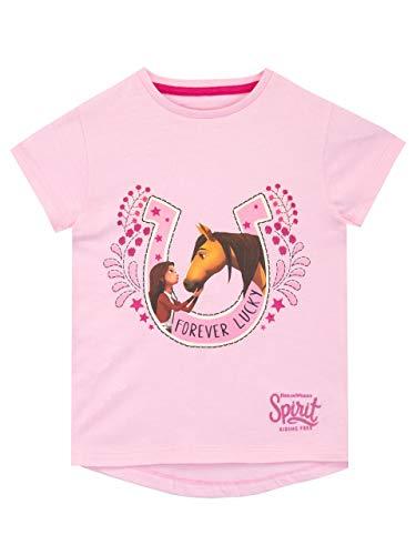 DreamWorks Meisjes T-Shirt Spirit Riding Free