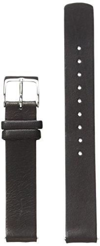 Skagen SKB2032 14mm Interchangeable Black Leather Calfskin Watch Strap (Replacement Watch Skagen Bands)