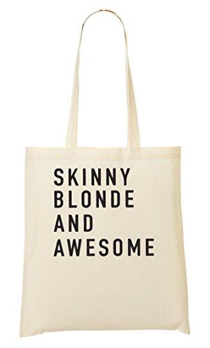 ShutUp Awesome Cute Blonde Sac Fourre-tout Sac à provisions