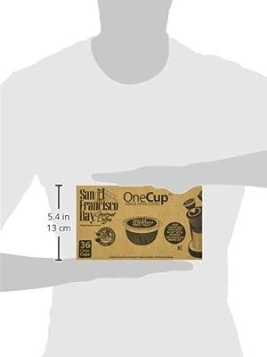 San Francisco Bay Fog Chaser 36 Ct Box - 33059 - Biodegradable K cups - 100% Organic