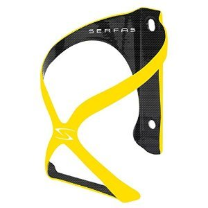 Serfas Spyre Carbon Bicycle Water Bottle Cage, Yellow