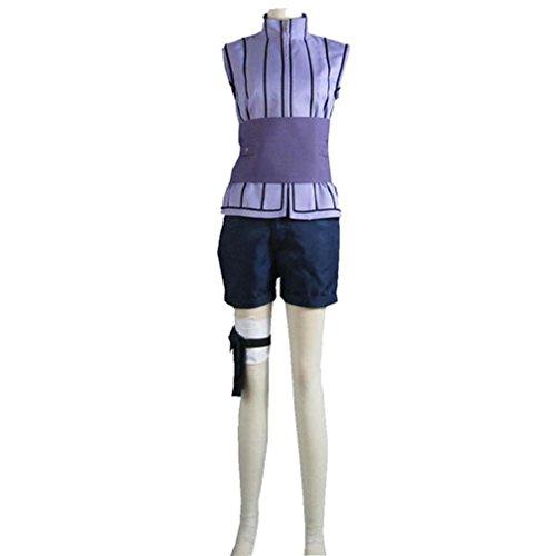 Cuterole Women Naruto last-Hinata Hyuga Ninja Uniform Anime Cosplay (Hinata Halloween Costume)
