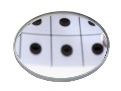 American Educational Concave Spherical Glass Mirror, 50mm Diameter, 15cm Focal Length (Pack of 5)