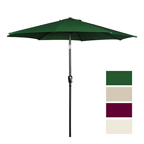 Cloud Mountain 9 Ft Patio Umbrella Only $28