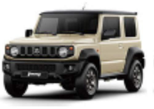 [해외]BM CREATIONS 164 스즈키 짐 니 (JB74) 쉬폰 아이 보 리 메탈 릭 LHD 완제품 / BM CREATIONS 164 Suzuki Jimny (JB74) Chiffon Ivory Metallic LHD Completed